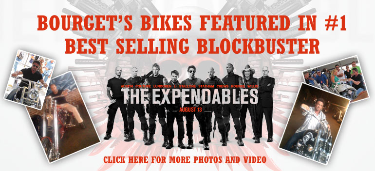 Bourget in The Expendables